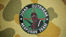NEW JIHAD OUTBREAK RESPONSE TEAM GREEN TACTICAL MORALE PATCH AUSTRALIA SELLER