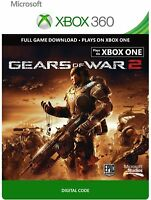 Gears Of War 2 Full Game Download Code Card Microsoft Xbox 360 Live REGION FREE