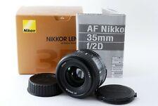【MINT in BOX!!】 Nikon AF Nikkor 35mm f/ 2 D Late Wide Angle AF Lens from Japan