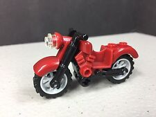 Lego Minifigure Accessory Dark Red Vintage Motorcycle New 76017 76047 85983c01