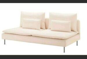 Ikea Cover for Soderhamn Sofa Section Samsta Light Pink Slipcover 303.282.99 New