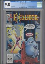 Excalibur #2 CGC 9.8 1988 Marvel 1st App Colin McKay (Kylun)  Pin-up Back Cover