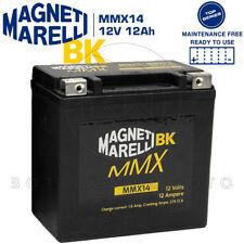 BATTERIA MMX MAGNETI MARELLI MMX14 = YTX14-BS BUELL XB12X XT 1200 ULYSSES 2008