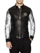 Diesel BLACK GOLD Leather Bomber Jacket  IT50 UK/US40- RRP1400GBP