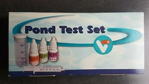 Velda VT Pond Test Set PH/GH/KH Wasserwert Teichwasser Wassertest-Kits180580