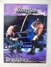 "John Layfield ""Bradshaw"" Autographed 2003 Fleer Wrestling Card"