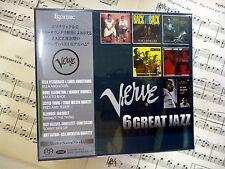 ESOTERIC SACD/CD Hybrid VERVE 6 GREAT JAZZ ESSV-90163/68 (6 discs) Box set NIB