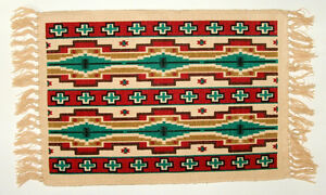 """Colorful Placemats Geometric Southwestern Native American Inspired 13x19""""  #156"""