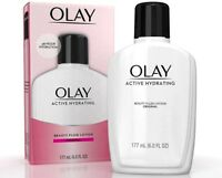 OLAY Active Hydrating Beauty Fluid Original 6 oz (Pack of 4)