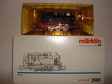 Märklin 3504 DB Tenderlok BR 80 B.Nr.80030 5***** Sterne Bj.89-90 NEU/OVP