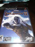 Baldur's Gate: Dark Alliance II PS2 no manual