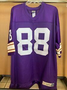 Vintage PRO LINE NFL Minnesota Vikings ALAN PAGE 88 Jersey Size 2XL