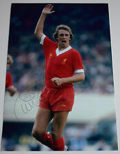 Phil Neal SIGNED 12x8 Photo Autograph Liverpool Football Sport AFTAL & COA