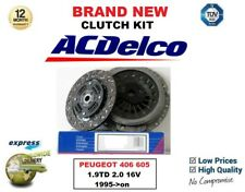 FOR PEUGEOT 406 605 1.9TD 2.0 16V 1995-> AC DELCO CLUTCH KIT w INTEGRAL BEARING
