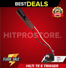 Hilti Te 5 Trigger Switch Preowned For Hilti Te 5 Hammer Drill New Free Hat