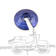 Steckscheibe Alu blau passend für MZ Simson