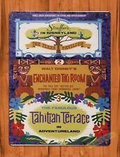 TIN SIGN Disney Stouffer's Tiki Room Tahitian Terrace Attraction Ride Art Poster