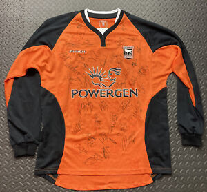 ipswich town shirt Squad signed football jersey Original Long Sleeves size Large