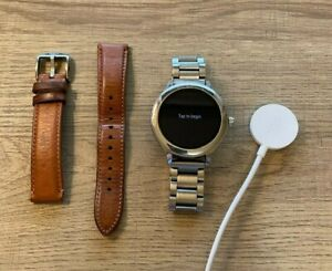 Fossil Q Venture Gen 3 Stainless Steel Smartwatch: 2 Bands Included