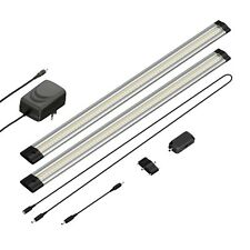 LED Unterbau-Leuchte Siris, Infrarot-Sensor, flach, je 50cm, 400lm, warm-weiß, 2