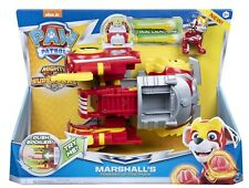 PAW Patrol Mighty Pups Super Paws Marshall's Powered up Fire Truck NEW