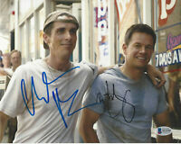 CHRISTIAN BALE & MARK WAHLBERG SIGNED 'THE FIGHTER' 8x10 PHOTO BECKETT COA BAS