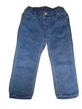 H & M tolle Jeans Hose mit hübscher Musterung Gr. 86 !!