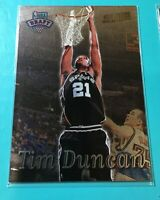 1997-98 Topps Stadium Club Tim Duncan Rookie #201 San Antonio Spurs HOF