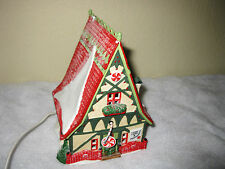 Department 56 North Pole Series Candy Cane & Peppermint Shop 1996