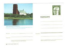 Pellworm 1973 Nordsee    Bildpostkarte Abb: Alte Kirche