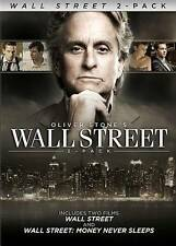 Wall Street/Wall Street: Money Never Sleeps (DVD, 2010, 2-Disc Set) New Sealed