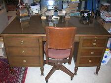 Hughes Tool Company 1939 Vintage Antique Desk & Chair,Howard Hughes Doten-Dunton