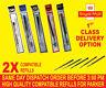 Compi 2 X Parker Breite Nachfüllpack für Kugelschreiber Medium Rot/Grün/