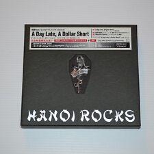 HANOI ROCKS -A day late, a dollar short -2003 JAPAN BOX CDSINGLE + STEEL PEND.