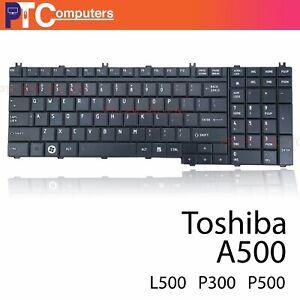KEYBOARD TOSHIBA Satellite A500 L350 L500 P300 P500 P505 Qosmio X500 X505 F60