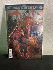 Dark Nights Metal Batman the Red Death 1st Print Foil Nm Dc Comics
