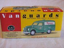 "Lledo Vanguards VA3000 Austin A40 Van ""Ransome's Lawnmowers"" 1/43 MIB"
