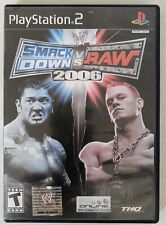 WWE SmackDown vs. Raw 2006 (Sony PlayStation 2, 2005) COMPLETE IN BOX CIB
