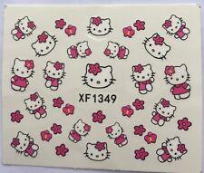 Hello Kitty Nail Art Stickers Decoration