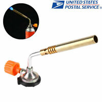 Portable Ignition Butane Gas Torch Welding Flame Gun Outdoor Lighter Burner Tool
