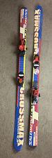 Youth 140cm salomon skis with bindings. Cross Max Solomon Synchro 305 Bindings.