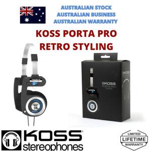 Koss Porta Pro Classic Retro Headphone Upgraded Audio KPPC1 Lifetime Warranty