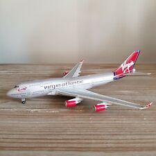 Virgin Atlantic B747-400 Scale Model Air Plane 1:400 G-VROM Limited Edition