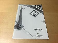 Booklet PATEK PHILIPPE New Model 2005 - Calatrava Ref. 5108 - All Languages