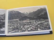 Interlaken Switzerland 12 Postcards in Foldout Booklet