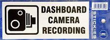Etiqueta Engomada De Tablero cámara de grabación