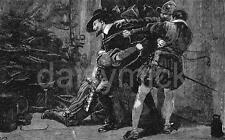 Guy Fawkes Gunpowder Plot Arrest 7x4 Inch Print