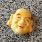 Original Vintage Japanese Toshikane Arita Button HOTEI GOD OF HAPPINESS Ho Tei