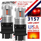 3157 3057 12SMD LED Tail Light Bulb For Dodge Ram 1500 2500 3500 1994-2010 Red  for sale