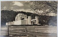 .CANBERRA, ACT. VINTAGE REAL PHOTO POSTCARD. WAR MEMORIAL.